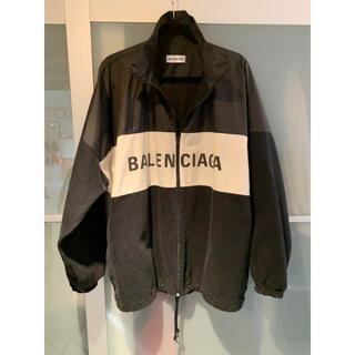 Balenciaga - BALENCIAGA ナイロンデニムジャケット