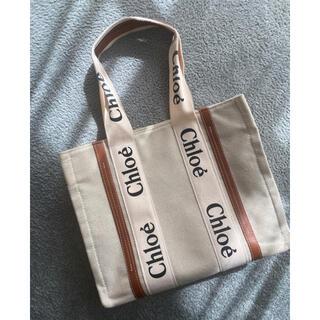 クロエ(Chloe)のキャンパスバッグ ロゴ入り(トートバッグ)