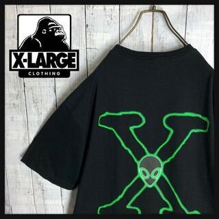 XLARGE - 【入手困難☆Xファイルコラボ☆エイリアン】エクストララージ Tシャツ Lサイズ.
