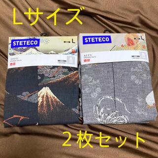 UNIQLO - 【新品未使用】ユニクロ メンズ   江戸浮世絵 芸艸堂ステテコ L(2枚セット)