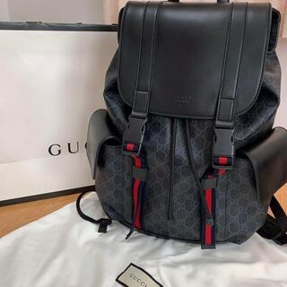 Gucci - グッチ Gucci GGスプリーム キャンバス バックパック