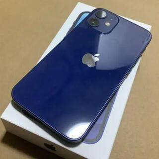 iPhone - iPhone 12 mini ブルー 128GB SIMフリー