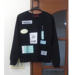 レピピアルマリオ(repipi armario)のレピピアルマリオ  トレーナー   M(Tシャツ/カットソー)