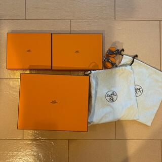 エルメス(Hermes)の美品エルメス 空箱&シューズ袋セット(ショップ袋)