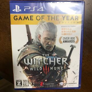 PlayStation4 - 未開封♪ ウィッチャー3 ワイルドハント ゲームオブザイヤーエディション PS4