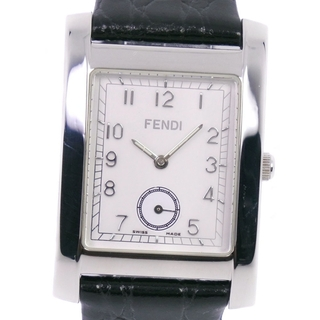 FENDI - フェンディ 016-7000G-602 クオーツ メンズ 白 腕時計