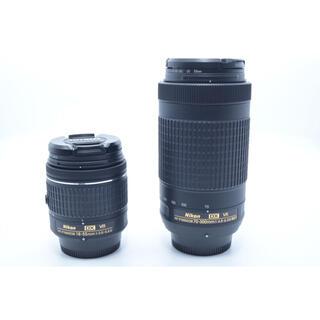 Nikon - 【美品】AF-P 18-55mm VR + AF-P 70-300mm VR