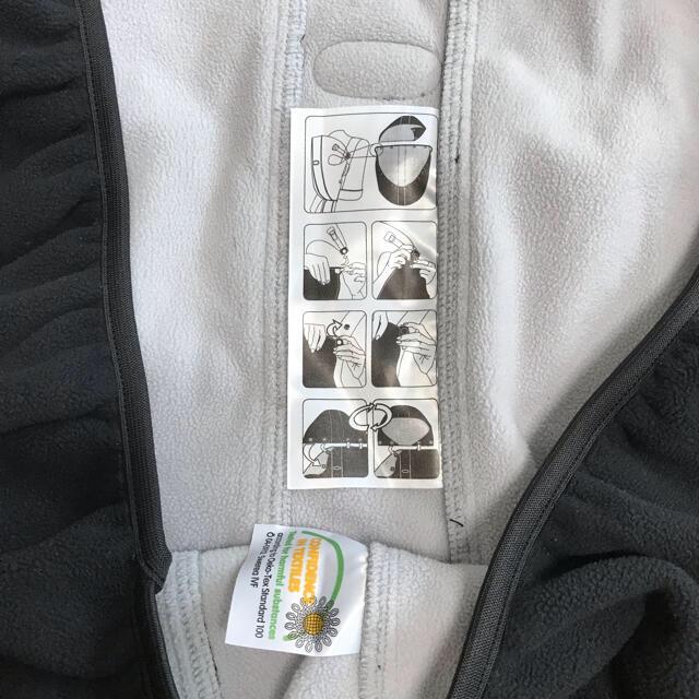 BABYBJORN(ベビービョルン)のベビービョルン 抱っこ紐カバー フリース 防寒 ハンドメイドのキッズ/ベビー(外出用品)の商品写真