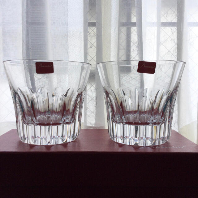 Baccarat(バカラ)のバカラ  エトナ ロックグラス 2客 インテリア/住まい/日用品のキッチン/食器(グラス/カップ)の商品写真