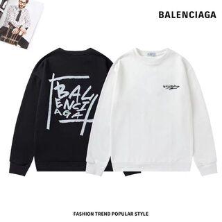 Balenciaga - 2枚12000/Balenciaga パーカー 男女兼用 #8014