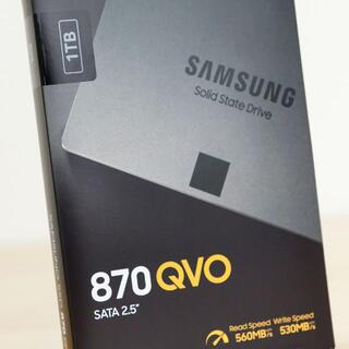 SAMSUNG - 使用新品 Samsung 870 QVO 1TB MZ-77Q1T0B/EC