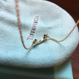 Tiffany & Co. - Tiffany ティファニーTスマイルネックレス ミニ