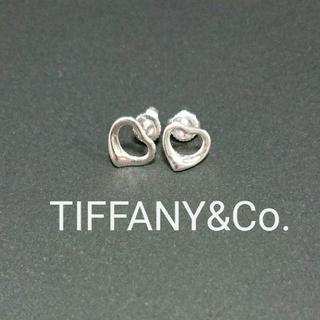 Tiffany & Co. - 中古 ティファニー オープンハートピアス