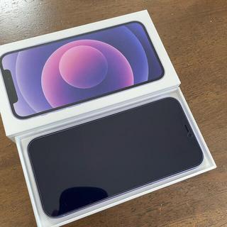 Apple - iPhone12 パープル 128GB 新古品 SIM au