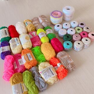 激安‼️毛糸&レース糸❣️全40玉以上‼️おまけ付き💕