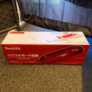 マキタ(Makita)のmakita マキタ 充電式クリーナー CL105DWR レッド 【新品】(掃除機)