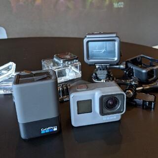 GoPro - GoPro6本体と予備バッテリーと充電器付