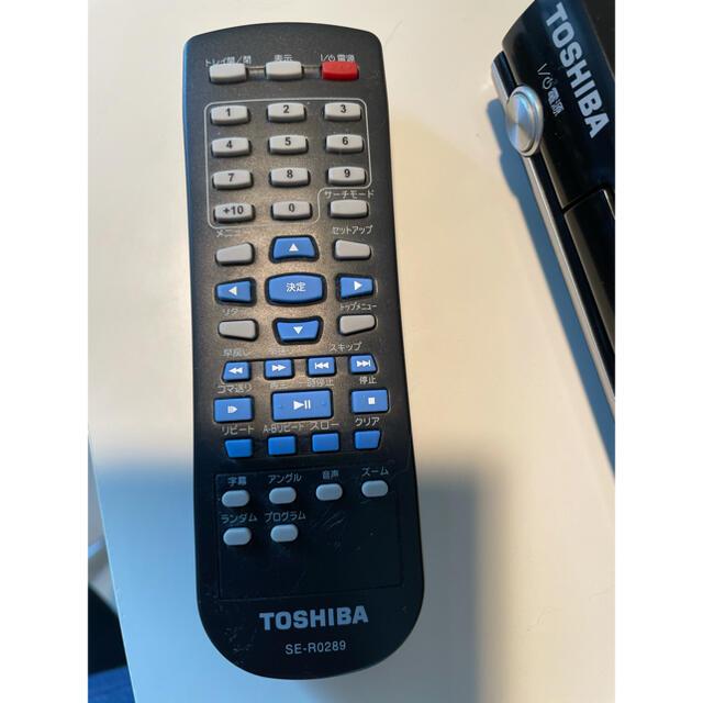 東芝(トウシバ)のTOSHIBA DVDプレイヤー スマホ/家電/カメラのテレビ/映像機器(DVDプレーヤー)の商品写真