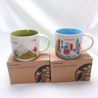Starbucks Coffee - Starbucks ATLANTA/PORTLAND マグカップ