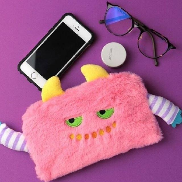 KALDI(カルディ)のKALDI  カルディ ♡ ハロウィン  モンスターポーチ セット エンタメ/ホビーのおもちゃ/ぬいぐるみ(ぬいぐるみ)の商品写真