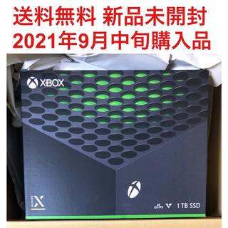 Xbox - 新品 Microsoft Xbox Series X RRT-00015 本体