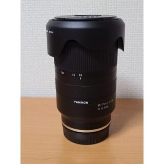 TAMRON - TAMRON レンズ28-75F2.8 DI3 RXD ソニーEマウント