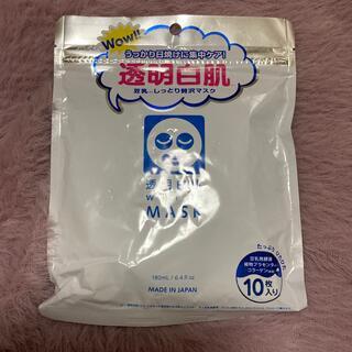 透明白肌 ホワイトマスクN(10枚入)(パック/フェイスマスク)
