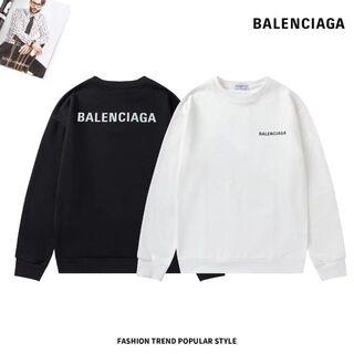 Balenciaga - 2枚12000/Balenciaga パーカー 男女兼用#8006