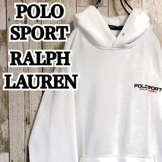 Ralph Lauren - ポロスポーツラルフローレン ワンポイント ゆるダボ プルオーバー パーカー