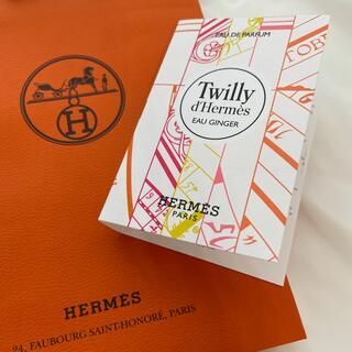 Hermes - HERMES #新品 Twilly EAU GINGER