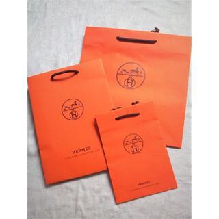 エルメス(Hermes)のHERMÈS 紙袋 ショッパー ツイリー 香水 カレ 小物 カシシル購入時③(ショップ袋)