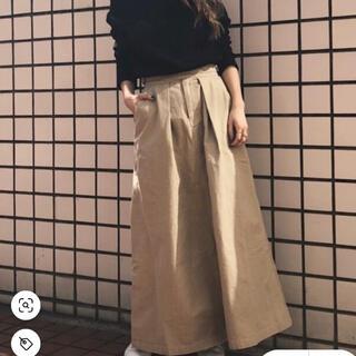 アングリッド(Ungrid)の【HARUKA様専用】ungrid ウエストデザインミニタリースカート(ロングスカート)