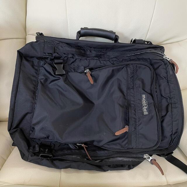 mont bell(モンベル)のバスタオルさん専用!モンベルリュックバッグ メンズのバッグ(バッグパック/リュック)の商品写真
