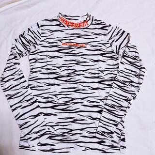 レピピアルマリオ(repipi armario)の即購入OK♡レピピアルマリオ ゼブラ柄ロンT 140(Tシャツ/カットソー)