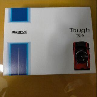 オリンパス(OLYMPUS)のオリンパス  デジタルカメラ Tough TG-6 レッド 新品未開封(コンパクトデジタルカメラ)