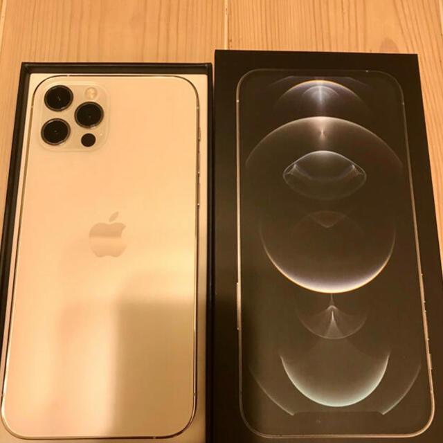 Apple(アップル)のiPhone12Pro 128GB SIMフリー(新品同様) スマホ/家電/カメラのスマートフォン/携帯電話(スマートフォン本体)の商品写真