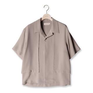 ステュディオス(STUDIOUS)のCULLNI 21SS オープンカラーフラップシャツ(シャツ)