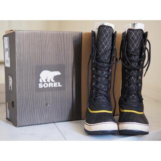 ソレル(SOREL)の【SOREL】 防水 ロングブーツ レディース 24.0cm(ブーツ)