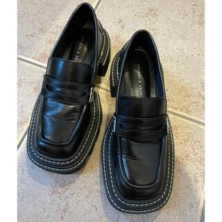 チャールズアンドキース(Charles and Keith)のチャールズ&キース チャンキーペニーローファー(ローファー/革靴)