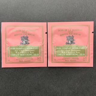 バラ園のケア モイスチャライジング フェイスクリーム サンプル 2袋