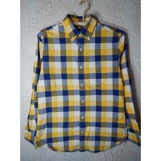 バナナリパブリック(Banana Republic)のo3659 バナナ リパブリック バナリパ 長袖 チェック BDシャツ(シャツ)