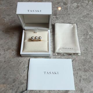 TASAKI - TASAKI タサキ K18YG あやこパール バランス エラ リング 14号