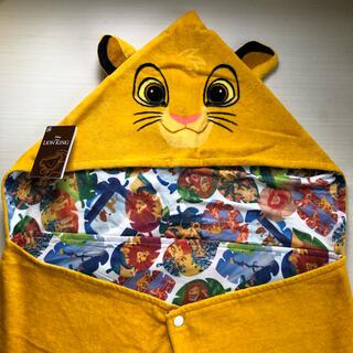 Disney - ライオンキング シンバ フード付きタオル 接触冷感