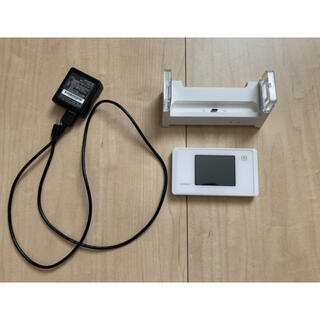 エヌイーシー(NEC)のNEC Speed Wi-Fi NEXT WX05 [ピュアホワイト](PC周辺機器)