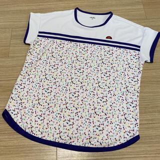 ellesse - 美品✨エレッセ ゲームシャツ テニスウェア Mサイズ