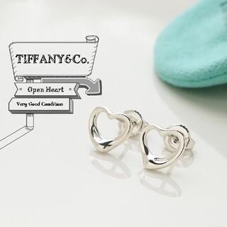 Tiffany & Co. - 新品仕上げ TIFFANY ティファニー オープンハート 925 ピアス