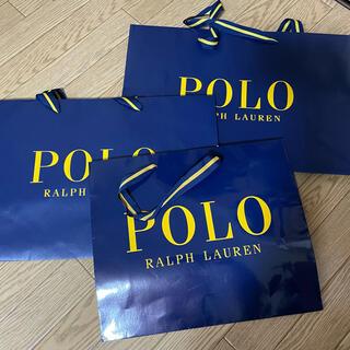 ポロラルフローレン(POLO RALPH LAUREN)のショップバッグ 紙袋 ポロ ラルフローレン(ショップ袋)
