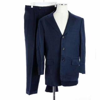ポールスチュアート(Paul Stuart)のポールスチュアート スーツ セットアップ テーラードジャケット パンツ 紺(スーツジャケット)