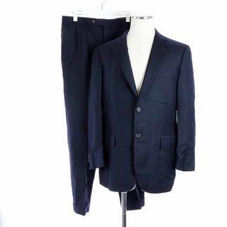 ポールスチュアート(Paul Stuart)のポールスチュアート スーツ セットアップジャケット パンツ ウール 紺(スーツジャケット)