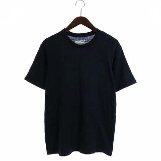 ナナミカ(nanamica)のナナミカ nanamica Tシャツ カットソー 半袖 M 黒 ブラック(Tシャツ/カットソー(半袖/袖なし))